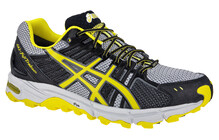 Asics Gel Fujitrabuco Chaussures running homme G-TX jaune/gris